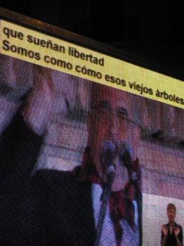 Subtitulado del Pregón.