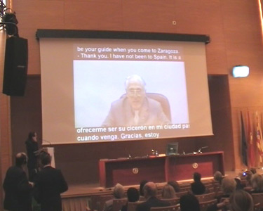 Video conferencia con el Prof. Clark