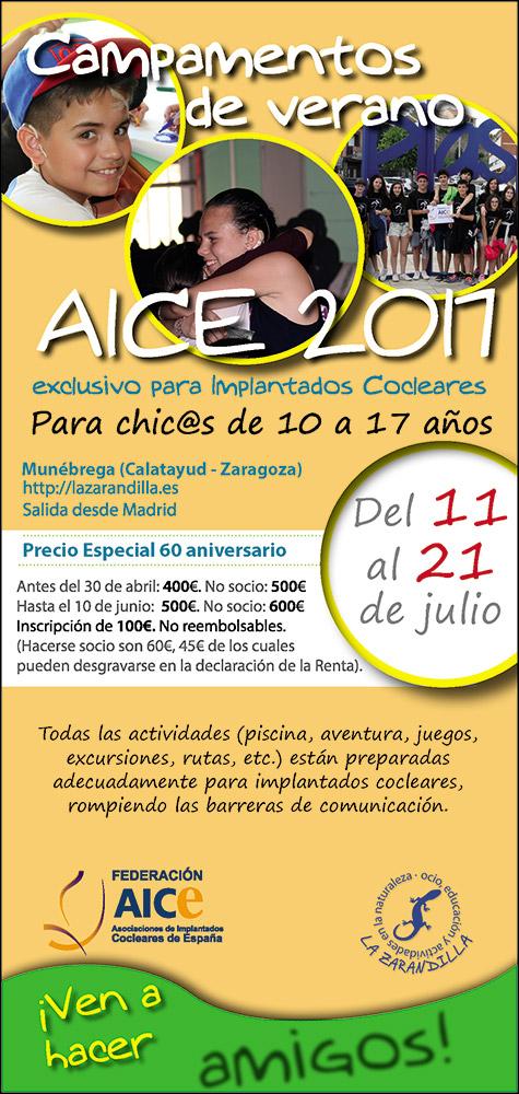 Campamentos de Verano AICE 2017