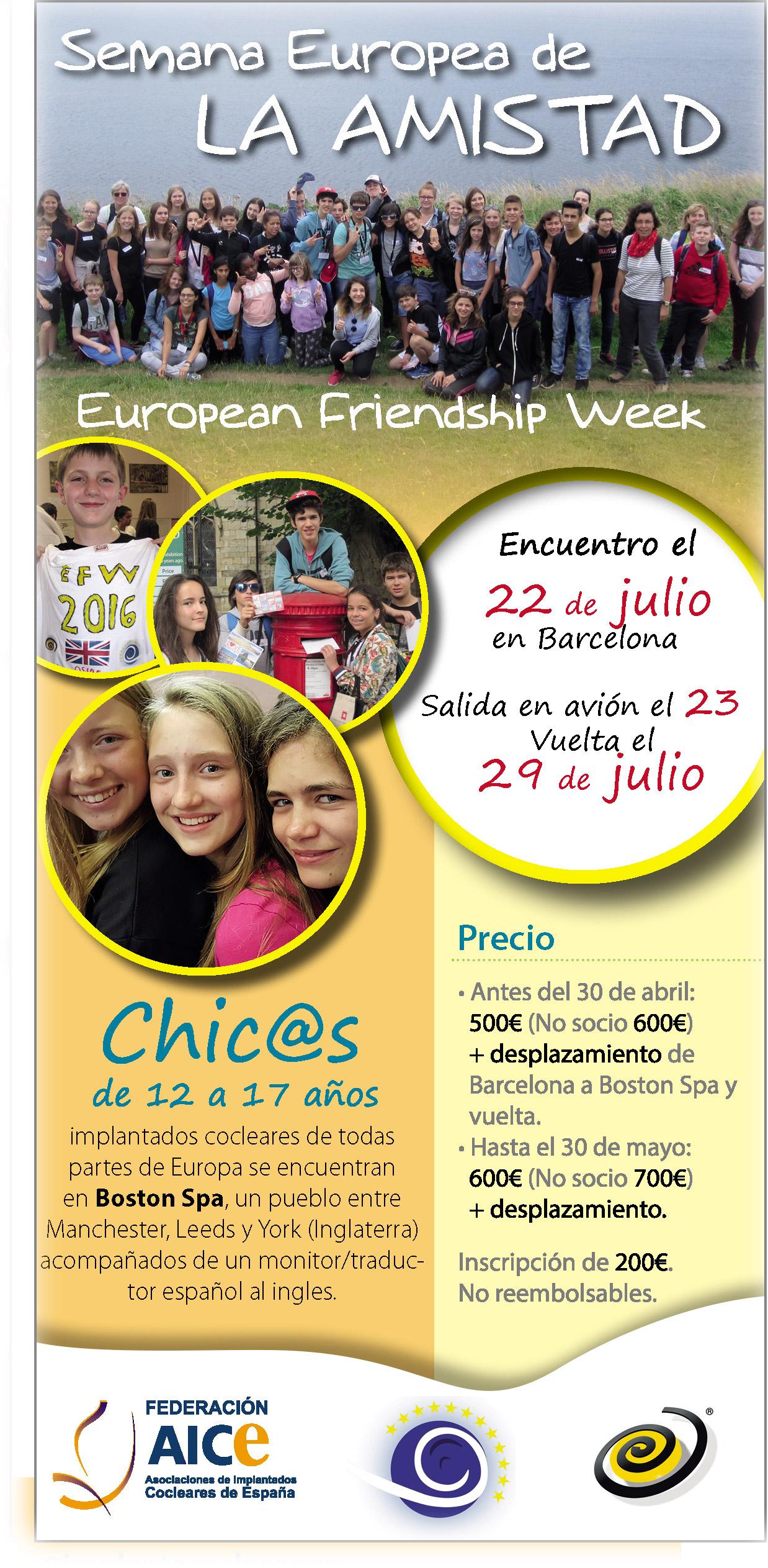 Semana Europea de la Amistad 2017