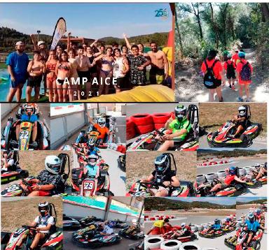 Mosaico de imágenes del CampAICE2021