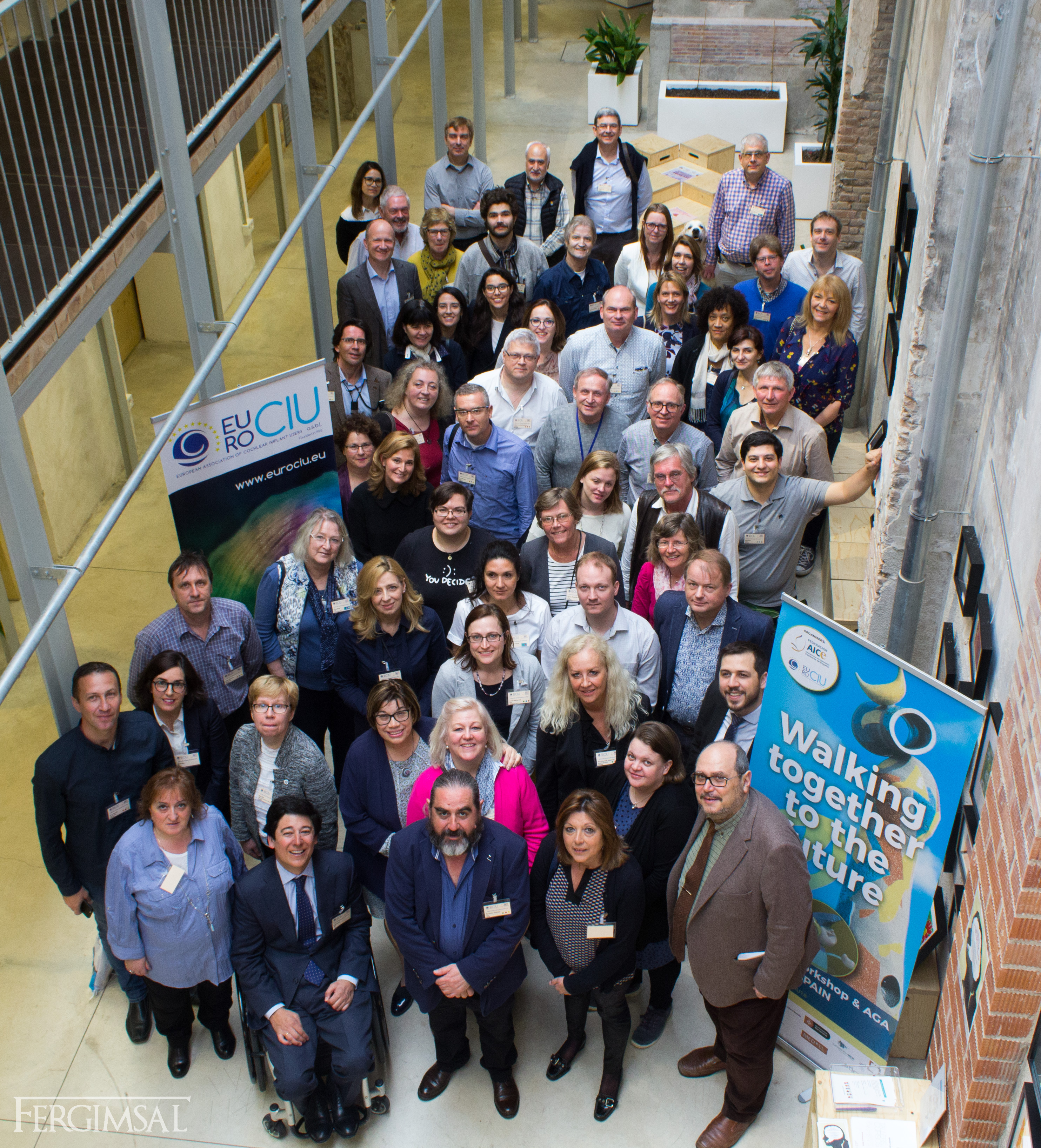 Grupo de participantes en el Workshop EUROCIU, Barcelona 2018