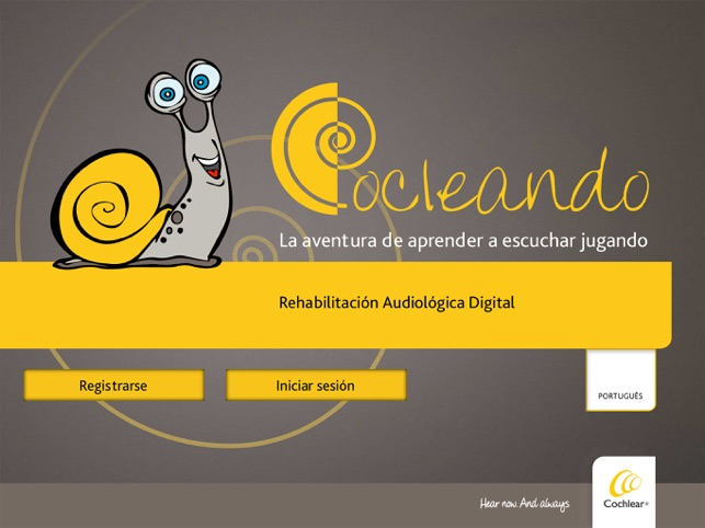 Logo app Cocleando