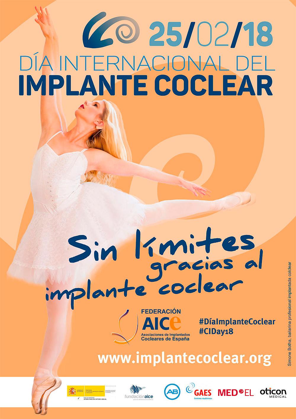 Cartel Día Internacional del Implante Coclear