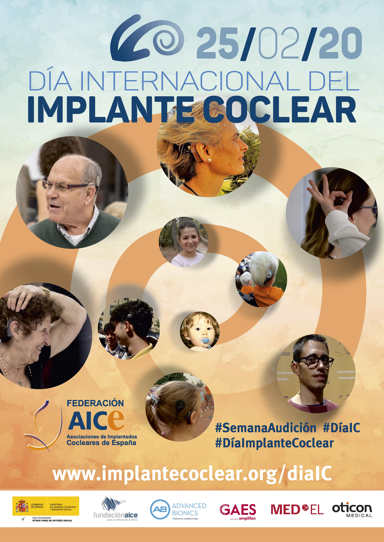 Cartel del Día Internacional del Implante Coclear