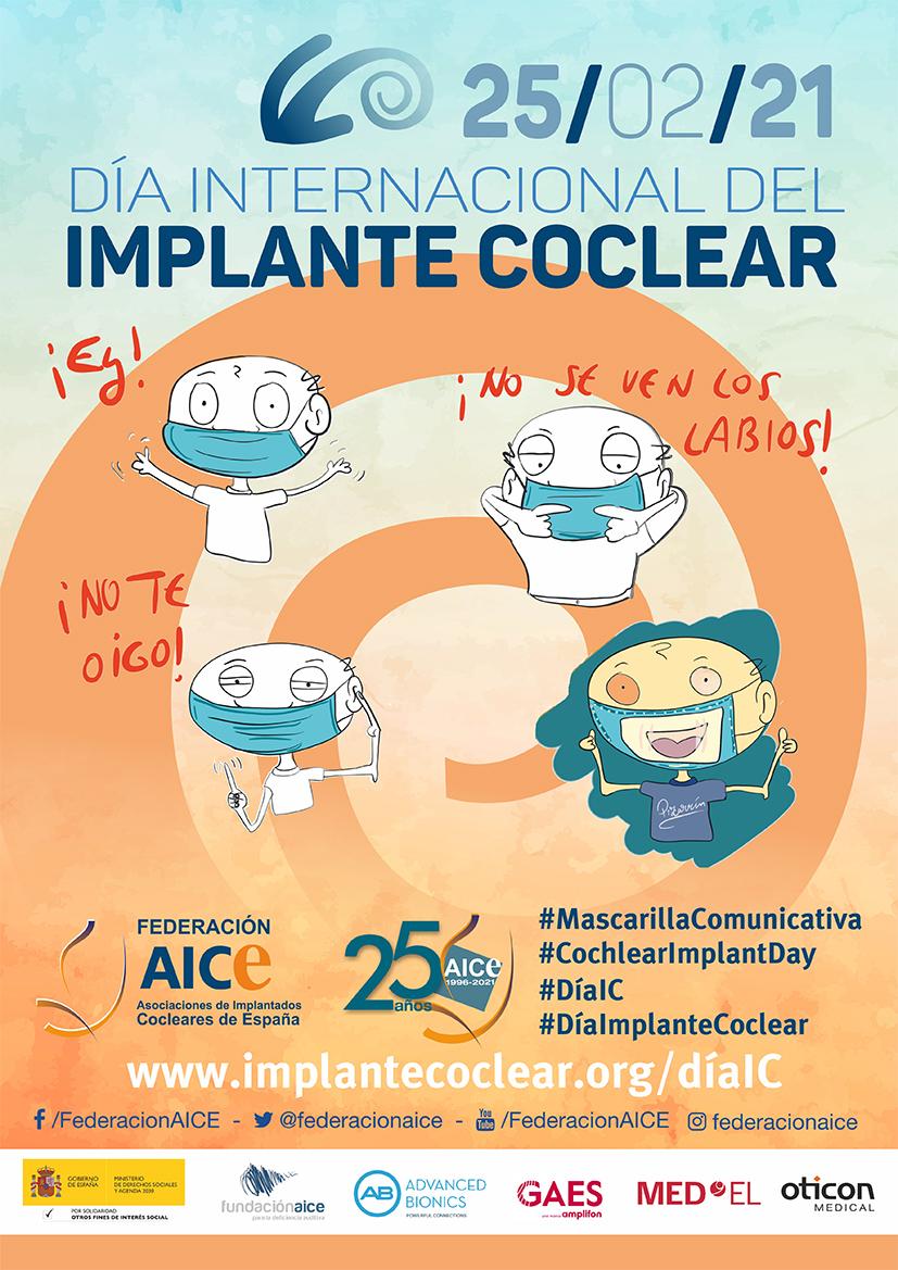 25 de febrero, Día Internacional del Implante Coclear. Por una comunicación efectiva: Mascarillas Comunicativas