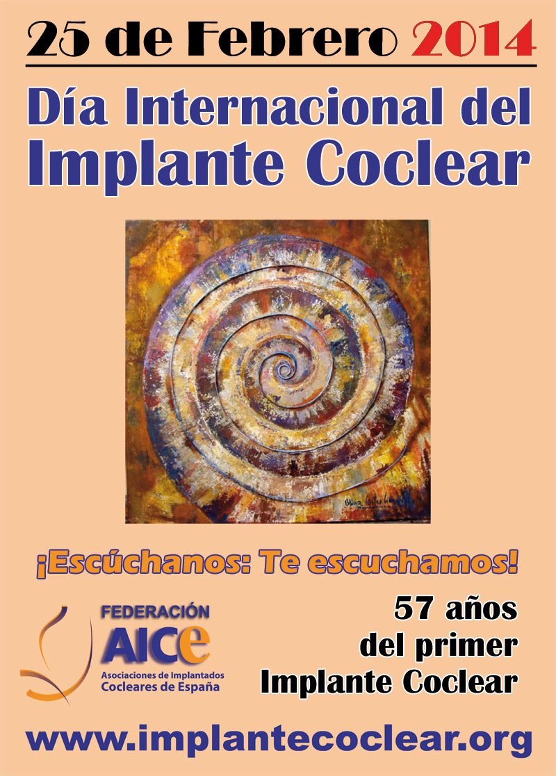 Cartel Día Implante Coclear 2014