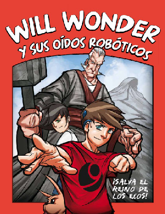 Portada comic Will Wonder