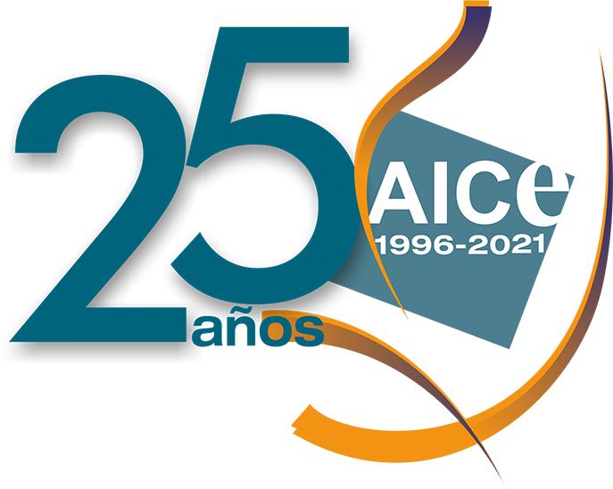 Logo AICE 20 años