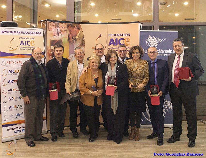 Grupo premiados Premios AICE 2015