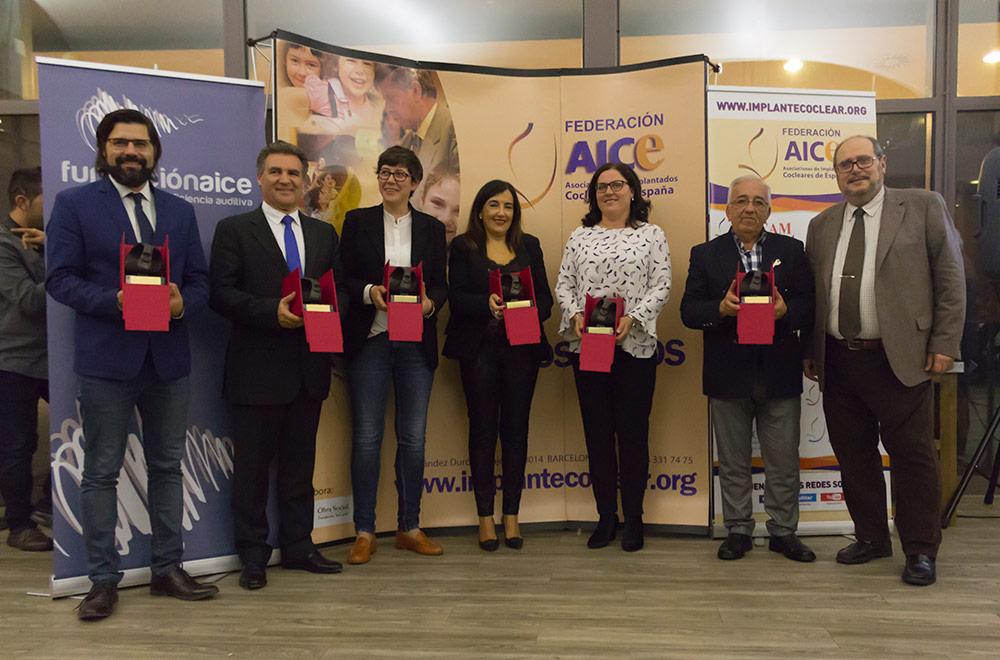 Grupo de premiados 2017