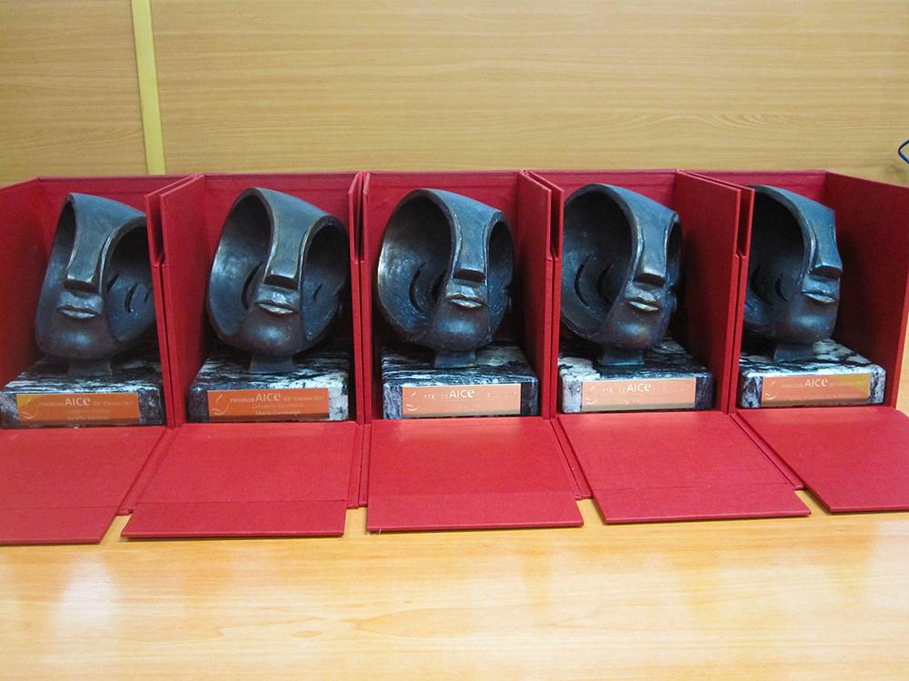 Foto de los premios AICE