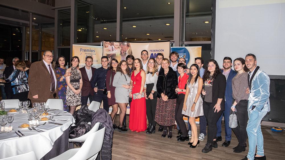 Grupo de Jóvenes participantes en el Fin de Semana de la Juventud de la Federación AICE
