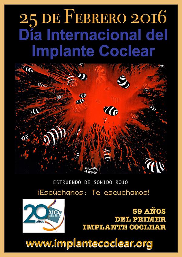 Cartel Día del Implante Coclear