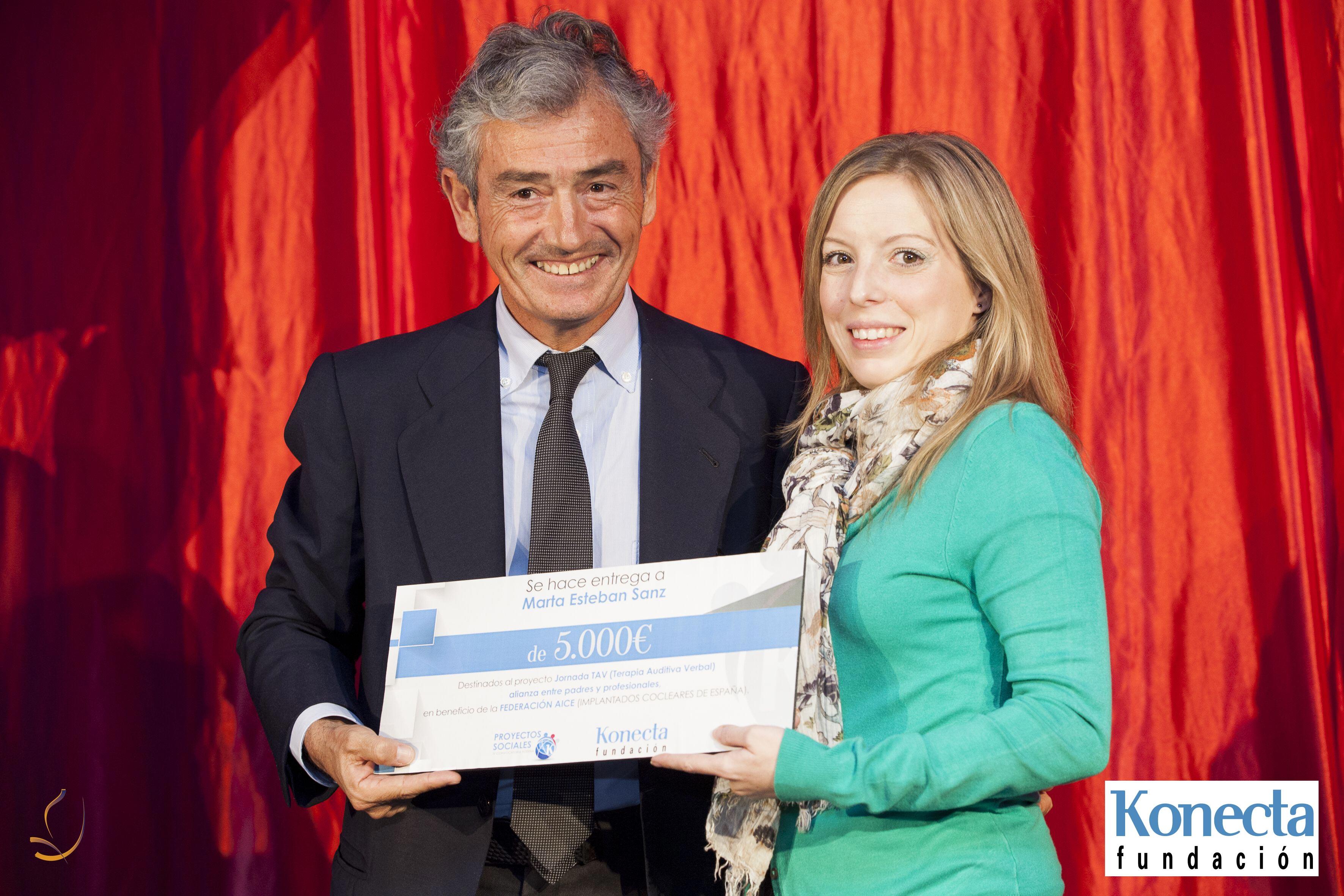 Fundación Konecta premia a Federacion AICE